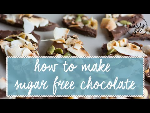 How to make sugar free chocolate