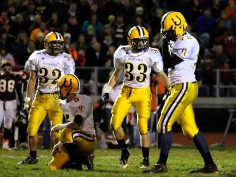 2010 Portage Central Varsity Football Vs Portage Norther High School