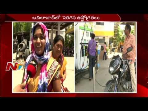 High Temperature in Adilabad || Coolers in Petrol Bunk || NTV