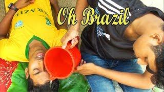 Oh Brazil !!  Oh Neymar !! Belgium vs Brazil world cup 2018 Football match effects for Fans !