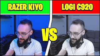 Razer KIYO Pro VS Logitech C920 (Razer Kiyo Pro Webcam Unboxing, comparison, quality & review)