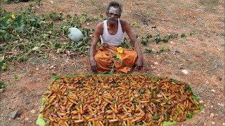 Nefis!! Hintli Dayı Chilly'li   Patates  Kızartması Yapıyor!!
