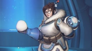 Overwatch: 7 Minutes of Snowball Fight Mode