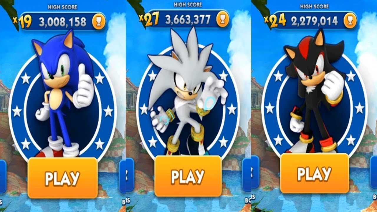 Sonic, shadow and silver 2025