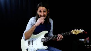 Eric Clapton style guitar lesson - Blues Licks for turnaround
