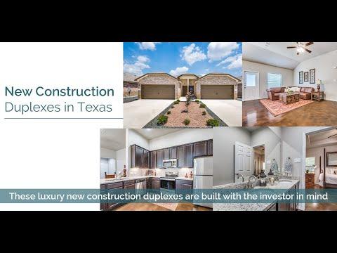 New Construction Duplexes