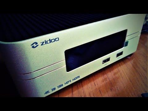 Премиум медиаплеер Zidoo Z10. Чё за ЗВЕРЬ в 4К 60fps HDR 10Bit (новинка 10.2018) !)