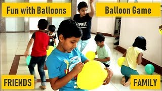 Balloon game   Best Kids party game   birthday party game   kitty party game   Surprise