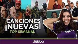 Top semanal de canciones ¡NUEVAS! - 28 de Septiembre 2019 - dukibo