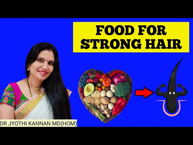 Food for Hair- Vitamins and Minerals for Hair