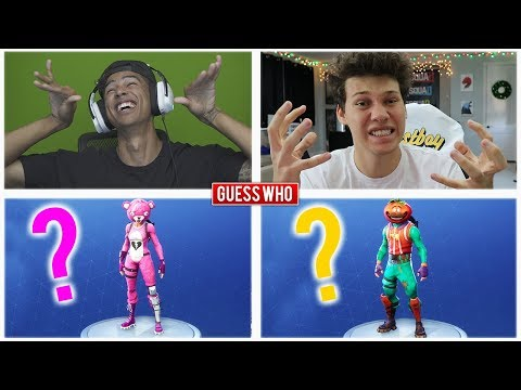 GUESS THAT FORTNITE SKIN MINIGAME!