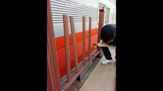 ㈜S합성데크 [신제품 타공법] 합성목재 타공형 울타리 …