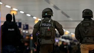 Attack reported at German train station