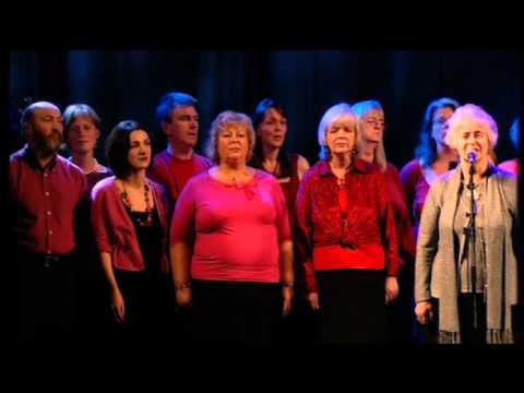 The Cast sing Auld Lang Syne at the MG ALBA Scots Trad Music Awards 2008