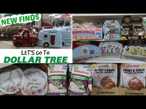 DOLLAR TREE * NEW FINDS!!! SHOP WITH ME 1-31-20