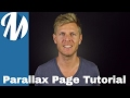 How to Create a Parallax Content Page Using MagLoft