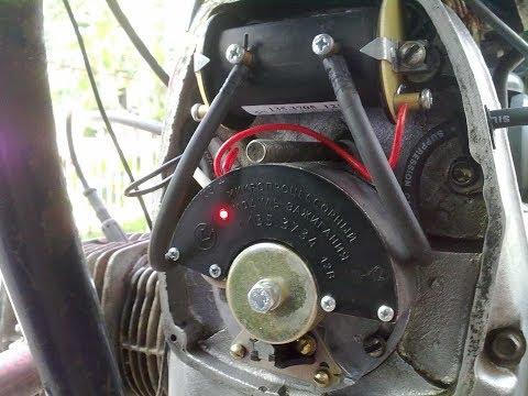 Мотоцикл Урал. Зажигание