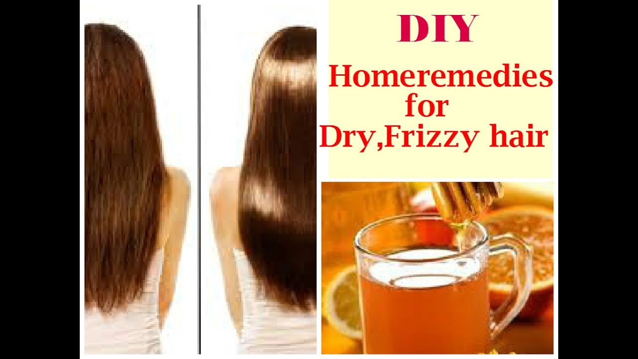 DIY Homeremedies For DryFrizzy Hair DIY Honey Rinse For