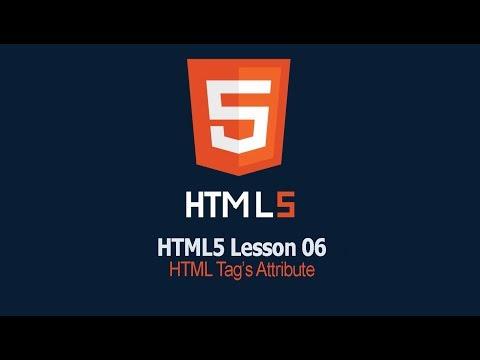 HTML Tag Attributes | Lesson 06 HTML Tutorial | SAFHATECH.COM thumbnail