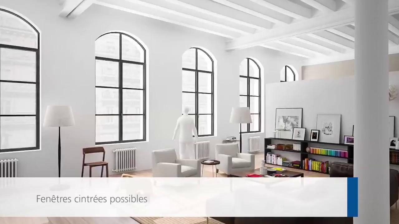 forster unico xs le syst me de profil s en acier ultra fin youtube. Black Bedroom Furniture Sets. Home Design Ideas