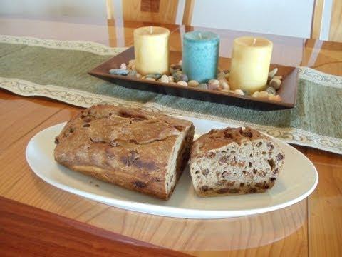 No-Knead Artisan Cinnamon Raisin Bread