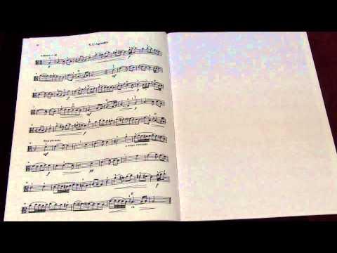 Suzuki Viola School Vol.7 No.1 Suite in A V L' Agreable  L.Caix D'Hervelois/D.Preucil