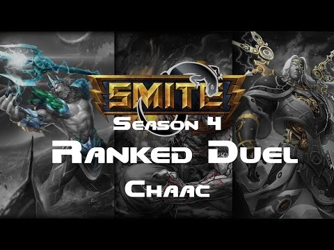 Smite - Ranked 1v1 Duel (Grandmasters) - Chaac Season 4