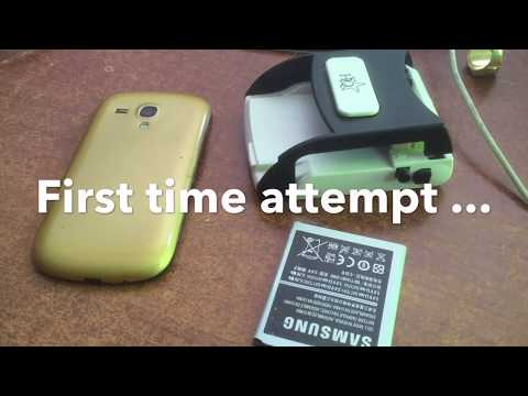 How I FIX my old not Charging Death  Samsung Lithium  3.6v - 3.7v Phone battery -  Try it 🤓 2017