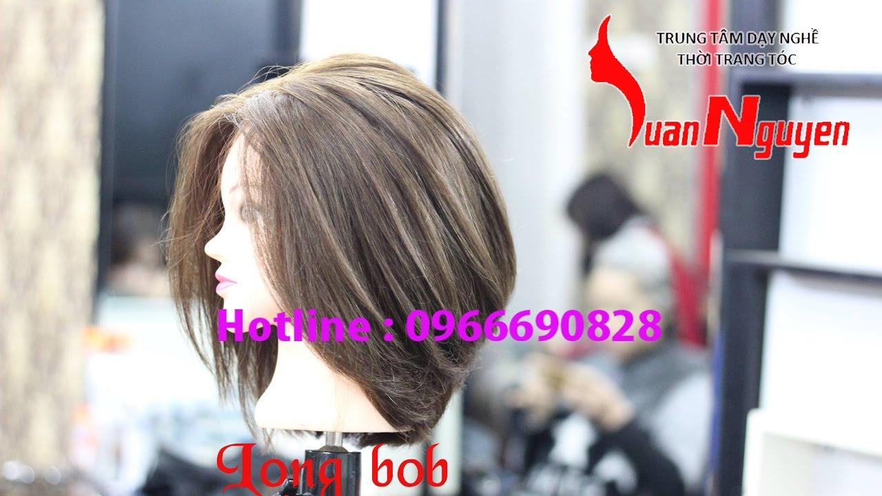 Hướng dẫn cắt tóc ngắn nữ – Long bob ( Bài số 14 )