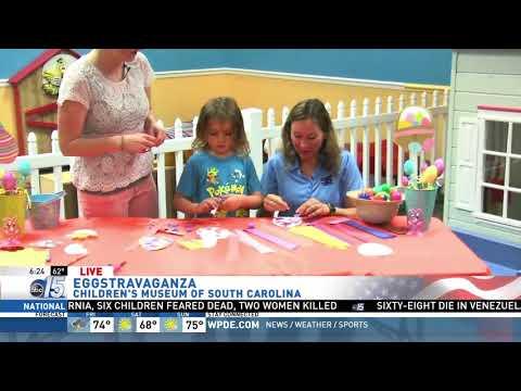 Amanda Live at Children's Museum of SC for Easter - Good Morning Carolinas - WPDE ABC 15