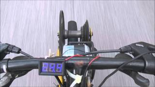 Homemade Electric Bike - using scooter motor - v1.1