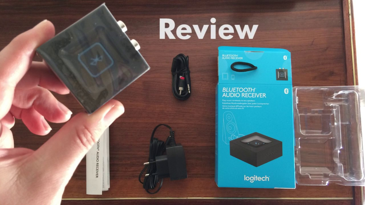 logitech bluetooth receiver audio adapter 980 000912. Black Bedroom Furniture Sets. Home Design Ideas