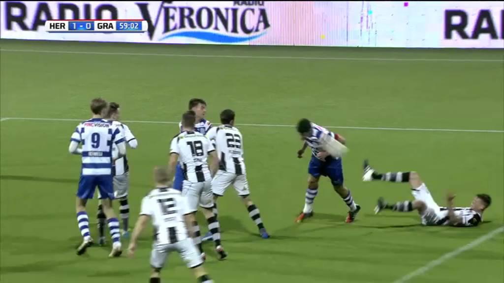 Heracles Almelo - De Graafschap 2-1 | 23-01-2016 | Samenvatting