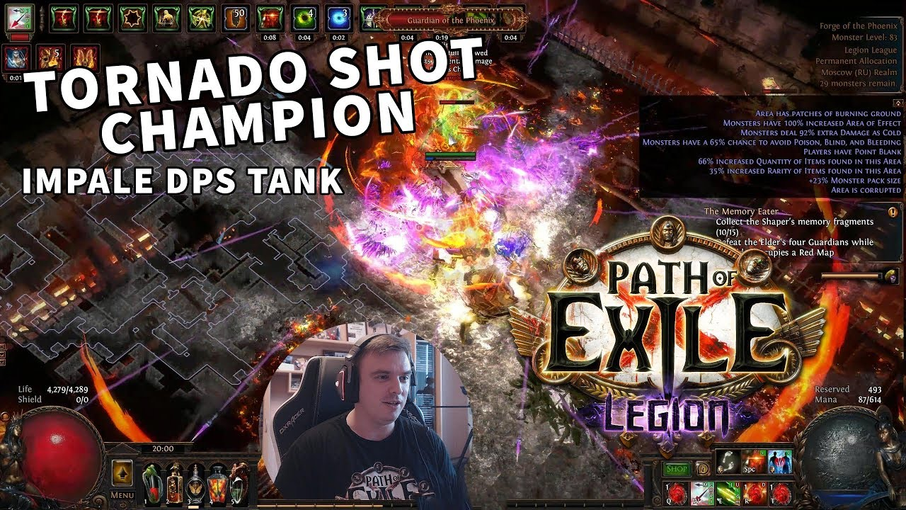 Watch PATH OF EXILE Legion - Liga #018 Wirbelsturm - Duellant