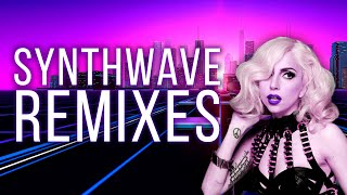 Synthwave Remixes of Popular Songs | Retrowave Mix 80s
