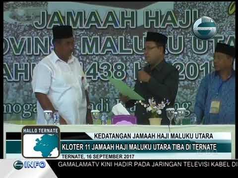 KEDATANGAN JAMAAH HAJI MALUKU UTARA KLOTER 11