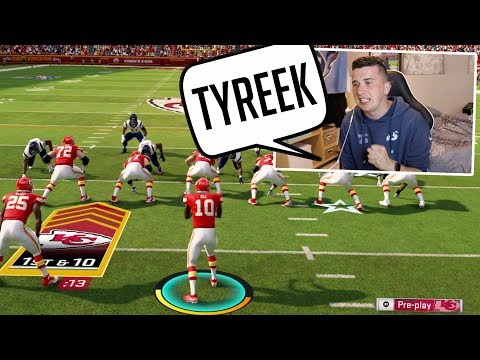 I Put Tyreek Hill At QB Against a Crazy Eagles Fan, And it was insane!