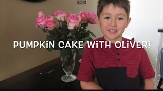 WW WEIGHT WATCHER 4 SMARTPOINT PUMPKIN CAKE! MADE  FOR YOU BY OLIVER!