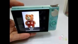 響。生活 CASIO EX-ZR5000 全新功能「一按廣角聚焦功能」示範說明