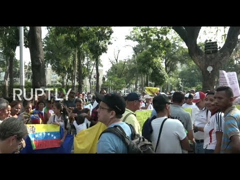 LIVE: Anti-Maduro protest takes place in Cucuta