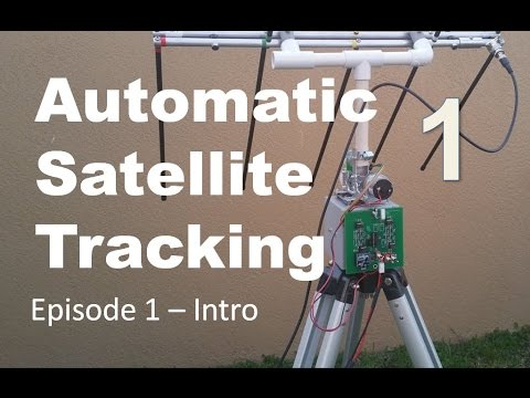 Ham Radio Portable Satellite Tracking System Wraps Ep1
