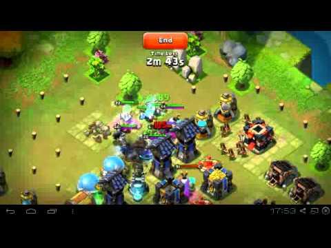 Castle Clash Battle Report Bugs Or Hack?