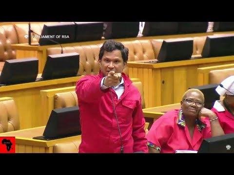 WATCH Insults In Parliament - ANC Yunus Carrim vs EFF and DA