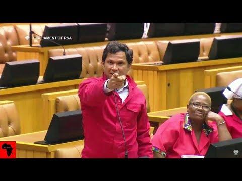 WATCH Insults In Parliament - ANC Yunus Carrim vs EFF and DA