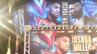"Anthony Joshua vs ""Big Baby"" Jarrell Miller Press Conference"