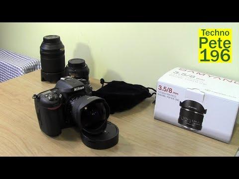Samyang 8mm F/3.5 Fisheye Lens Review W Sample Pictures