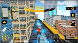 Bike Stunt Extreme Roof Drive - Impossible Motorbike Games - Android Gameplay FHD