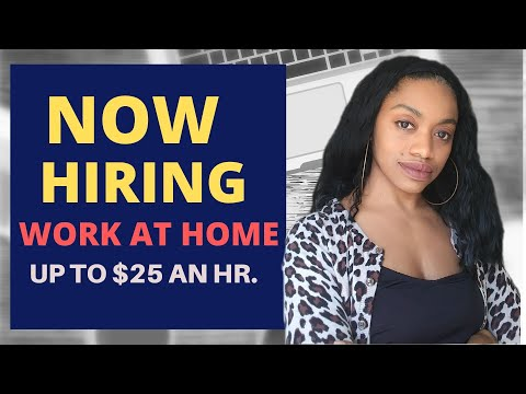 New Remote Job! $18-$25 An Hour! Work From Home! 2019/2020
