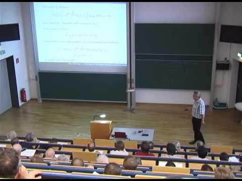 Algebraic Quantum Field Theory | Talk by Klaus Fredenhagen