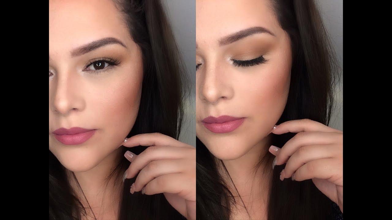maquillaje bonito y natural